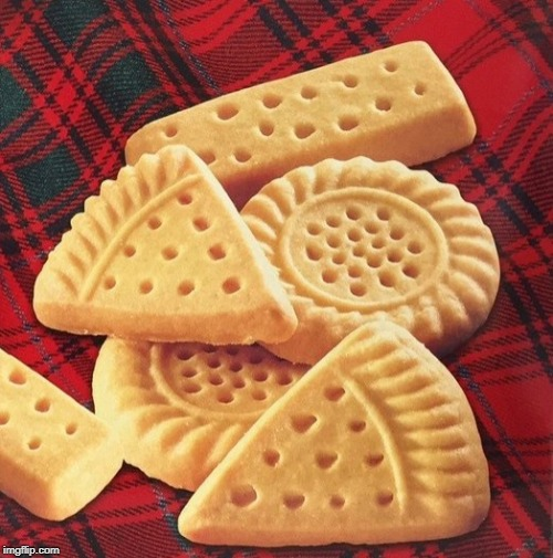 Shortbread cookies | made w/ Imgflip meme maker
