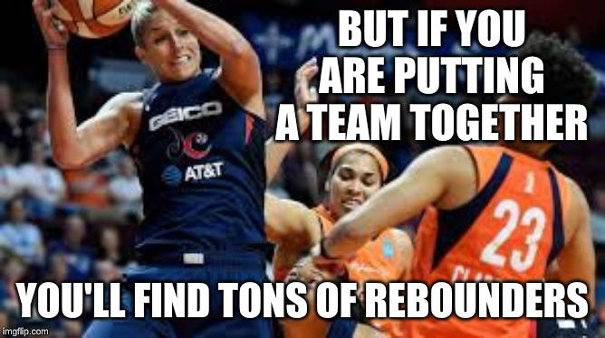 Rebound | BUT IF YOU ARE PUTTING A TEAM TOGETHER YOU'LL FIND TONS OF REBOUNDERS | image tagged in rebound | made w/ Imgflip meme maker