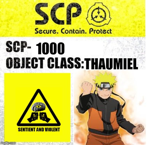 Scp Sign Generator Imgflip Thaumiel, mind affecting scp special containment procedures: scp sign generator imgflip