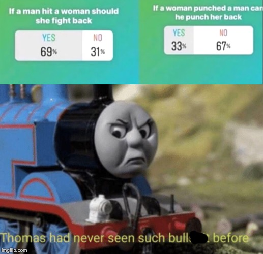 image tagged in thomas had never seen such bullshit before | made w/ Imgflip meme maker