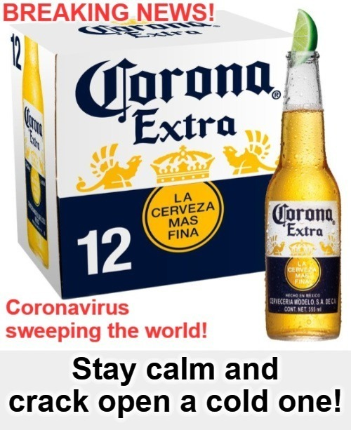 Stay calm and crack open a cold one! | image tagged in stay calm,hold my beer,cold beer here,mexican word of the day,mexican beer,facebook jail | made w/ Imgflip meme maker