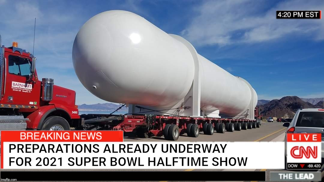PREPARATIONS ALREADY UNDERWAY FOR 2021 SUPER BOWL HALFTIME SHOW | image tagged in memes,super bowl,halftime,jlo | made w/ Imgflip meme maker