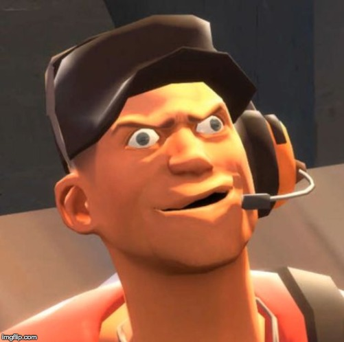 TF2 Scout | image tagged in tf2 scout | made w/ Imgflip meme maker