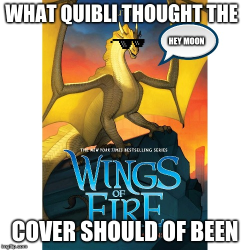 WHAT QUIBLI THOUGHT THE COVER SHOULD OF BEEN HEY MOON | image tagged in this is a tag | made w/ Imgflip meme maker