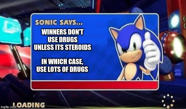 Sonic Says - Imgflip