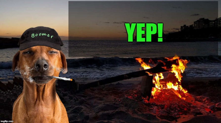 boomer says by kewlew | YEP! | image tagged in boomer says by kewlew | made w/ Imgflip meme maker