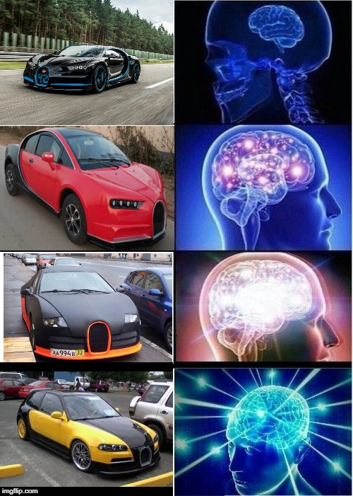 Those Replicas Look So MuCh LiKe ThE oRiGiNaL | image tagged in memes,expanding brain | made w/ Imgflip meme maker