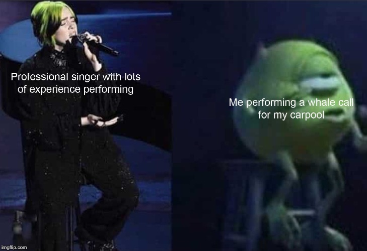 Billie and Mikey | image tagged in oscars,whalecall | made w/ Imgflip meme maker