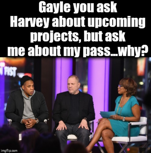 60 Minutes | image tagged in gayle king,jay z,harvey weinstein | made w/ Imgflip meme maker