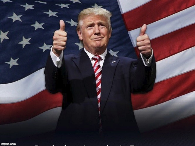 Donald Trump Thumbs Up | image tagged in donald trump thumbs up | made w/ Imgflip meme maker