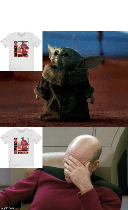 image tagged in memes,captain picard facepalm,baby yoda | made w/ Imgflip meme maker
