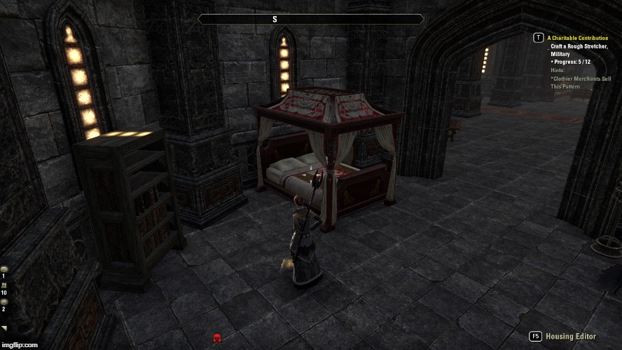 Something That Really Bugs Me About Canopy Beds And Please Fix It Elder Scrolls Online