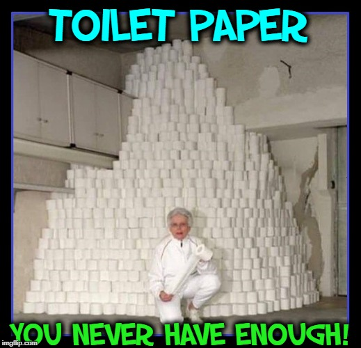 When Toilet Paper Becomes a Priority, call me! | TOILET PAPER YOU NEVER HAVE ENOUGH! | image tagged in vince vance,toilet paper,no more toilet paper,wipeout,white privilege,wiping | made w/ Imgflip meme maker