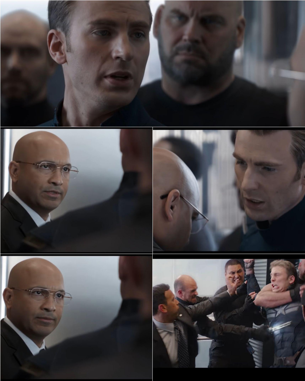 Mentahan Meme Captain America