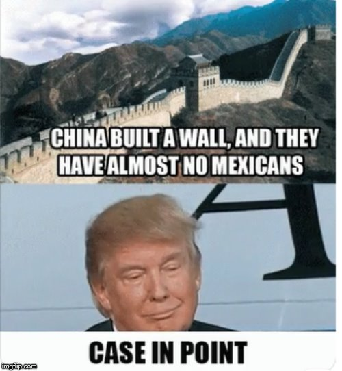 image tagged in trump logic | made w/ Imgflip meme maker