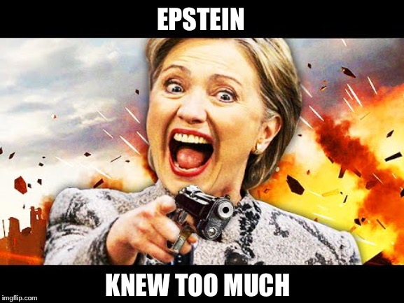 EPSTEIN KNEW TOO MUCH | made w/ Imgflip meme maker