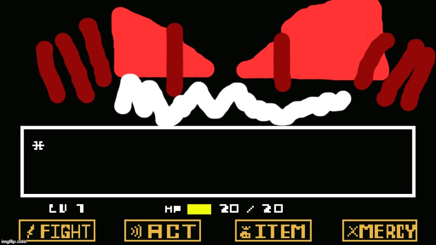 ERROR-682 MUTATION | image tagged in undertale battle,682,boss,final boss,infinity,overpowered | made w/ Imgflip meme maker
