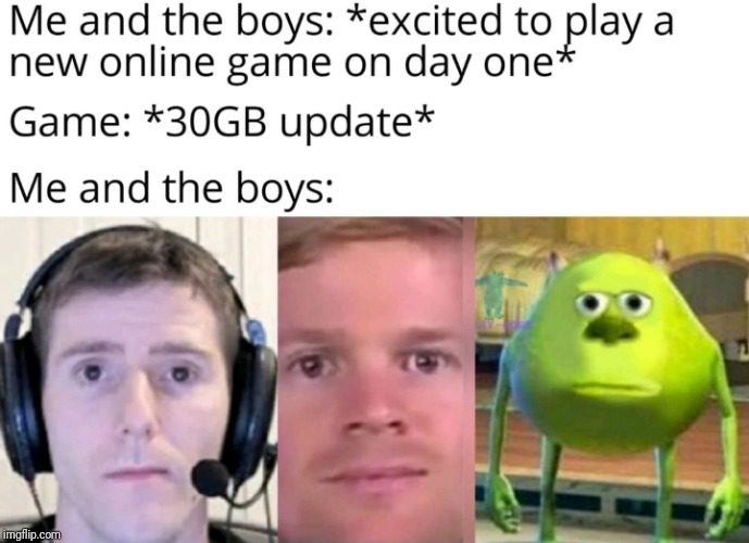 Truth | image tagged in funny,mike wazowski,video games | made w/ Imgflip meme maker