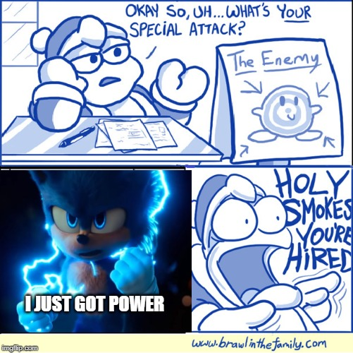 Sonic Movie Memes Holy Smokes You Re Hired Memes Gifs Imgflip