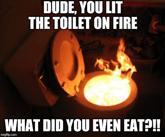 Toilet Fire Memes Imgflip