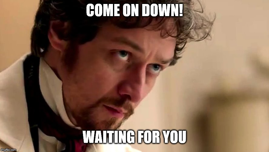 Victor | COME ON DOWN! WAITING FOR YOU | image tagged in funny memes | made w/ Imgflip meme maker