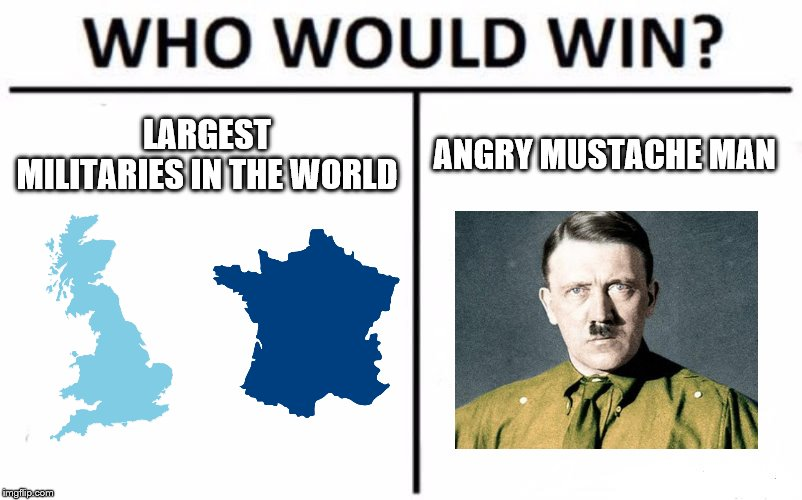Who Would Win? |  LARGEST MILITARIES IN THE WORLD; ANGRY MUSTACHE MAN | image tagged in memes,who would win | made w/ Imgflip meme maker