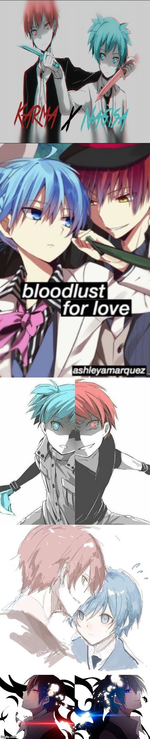 Assassination Class Karma X Nagisa Memes Gifs Imgflip