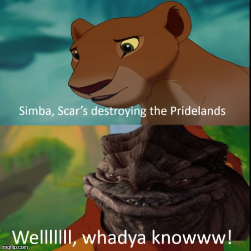 Dexter Simba | image tagged in star wars prequels,the lion king | made w/ Imgflip meme maker