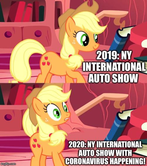 NY International Autoshow 2019 Vs 2020