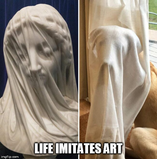 LIFE IMITATES ART | image tagged in life imitates art,art,life | made w/ Imgflip meme maker