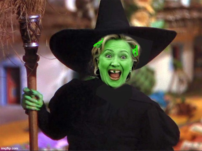 Hillary witch | image tagged in hillary witch | made w/ Imgflip meme maker