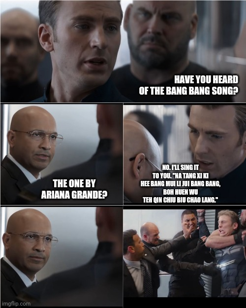 Captain America Bad Joke - Imgflip