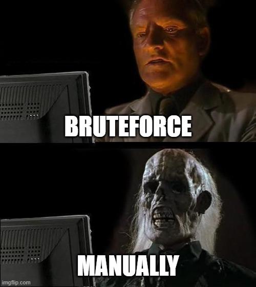 bruteforce meme