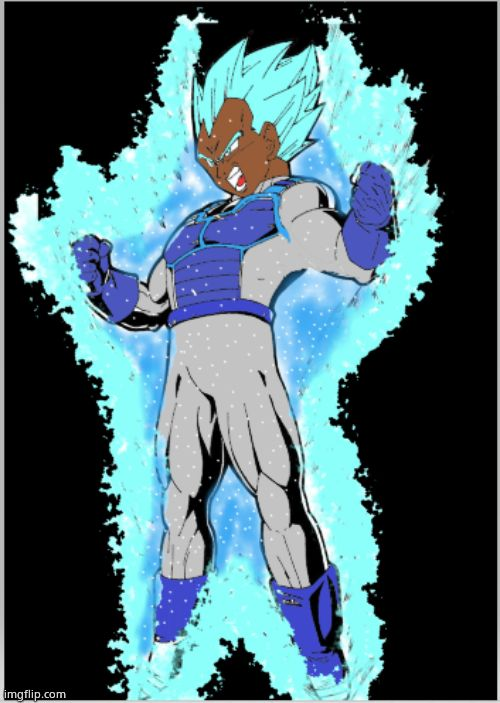 Super black Vegeta | image tagged in super black vegeta | made w/ Imgflip meme maker