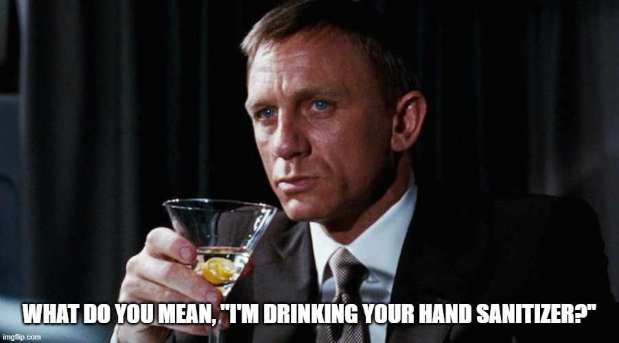 "Homemade Hand Sanitizer |  WHAT DO YOU MEAN, ""I'M DRINKING YOUR HAND SANITIZER?"" 