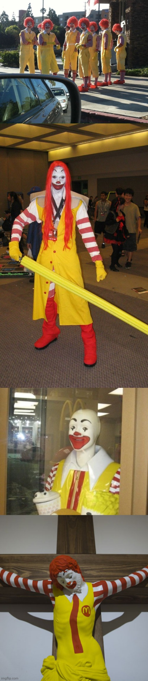 image tagged in memes,ronald mcdonald,cursed image,funny | made w/ Imgflip meme maker