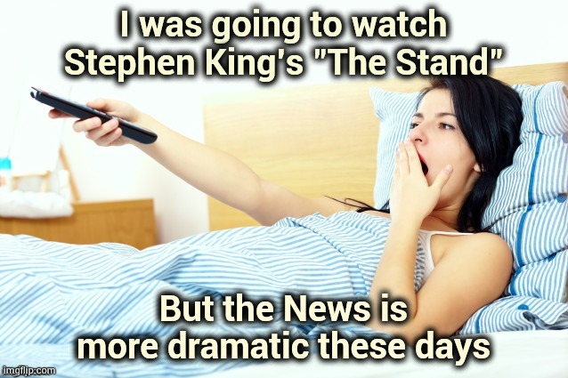 """It's the end of the world as we know it"" - R.E.M. 