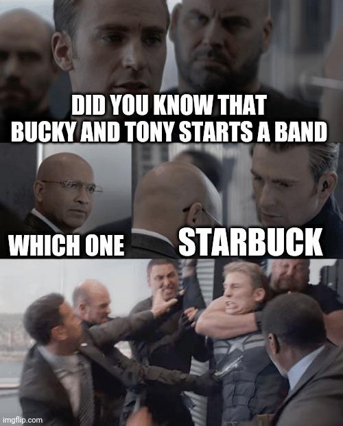 Meme Captain America Elevator