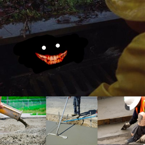 Pennywise Sewer Cover up | image tagged in pennywise sewer cover up | made w/ Imgflip meme maker