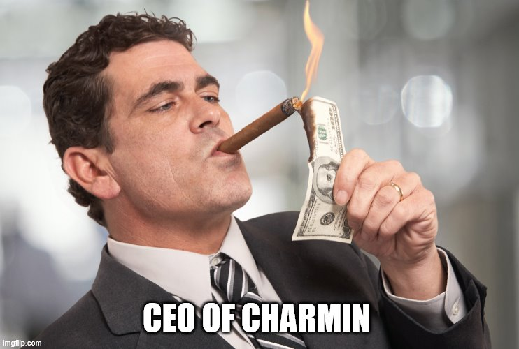 TP |  CEO OF CHARMIN | image tagged in coronavirus,toilet paper | made w/ Imgflip meme maker