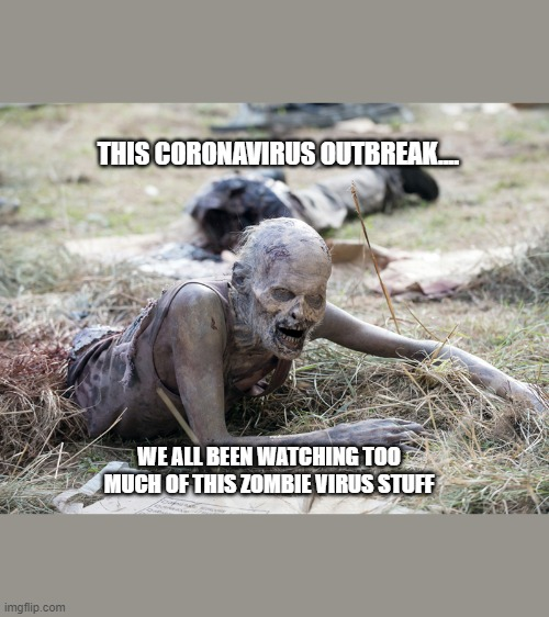 The Walking Dead Crawling Zombie Imgflip
