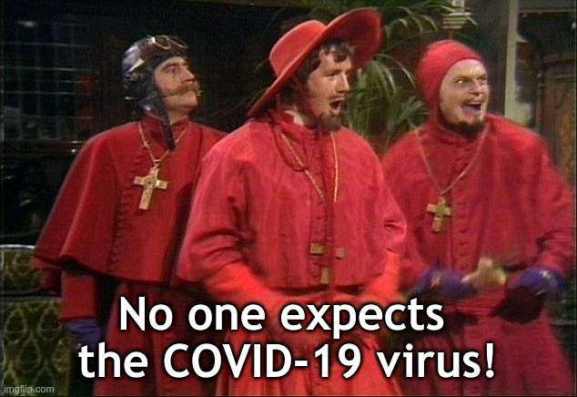 No One Expects The Spanish Inquisition Imgflip