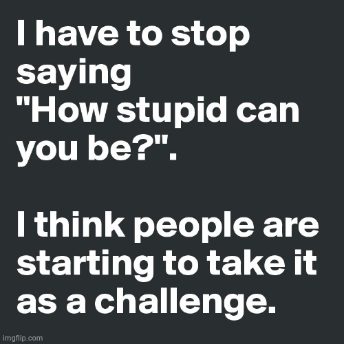 I see stupid people | image tagged in i see stupid people | made w/ Imgflip meme maker