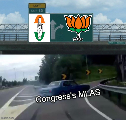 Left Exit 12 Off Ramp |  Congress's MLAS | image tagged in memes,left exit 12 off ramp | made w/ Imgflip meme maker