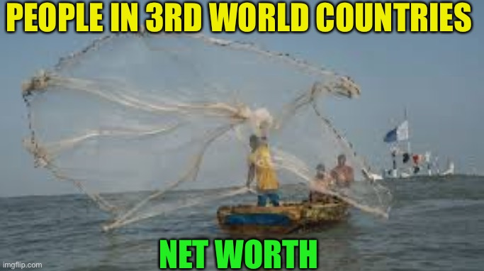 PEOPLE IN 3RD WORLD COUNTRIES NET WORTH | made w/ Imgflip meme maker