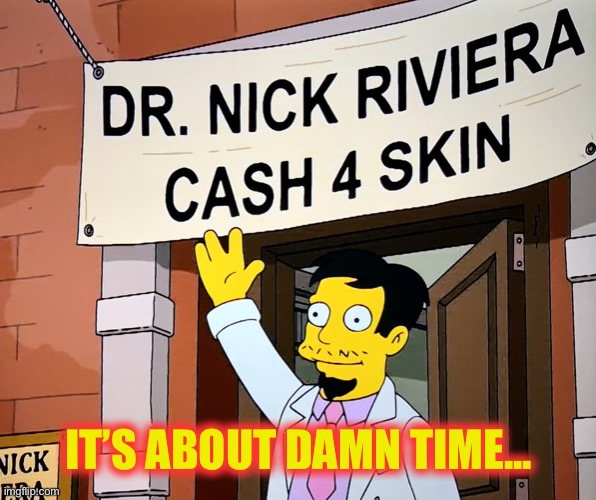 "Enough with ""free skin"" 