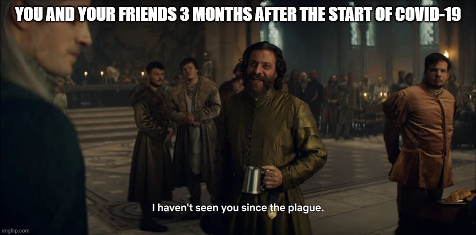 YOU AND YOUR FRIENDS 3 MONTHS AFTER THE START OF COVID-19 | image tagged in witcher,the witcher,coronavirus,corona virus,corona,plague | made w/ Imgflip meme maker