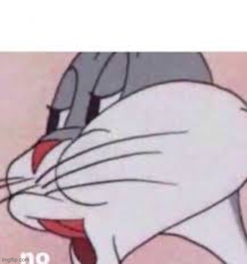 no bugs bunny | image tagged in no bugs bunny | made w/ Imgflip meme maker