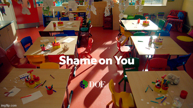 Shame on you | image tagged in shame on you | made w/ Imgflip meme maker