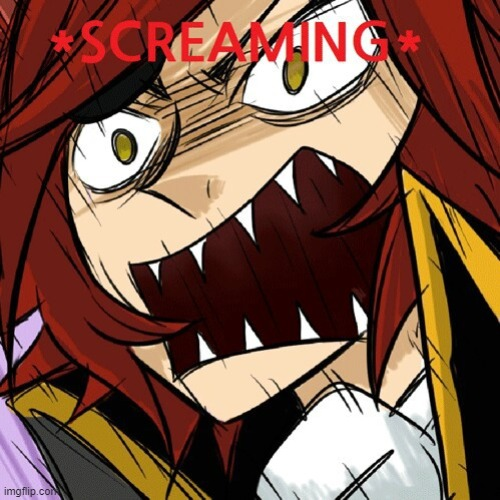 Foxy Screaming | image tagged in foxy screaming | made w/ Imgflip meme maker